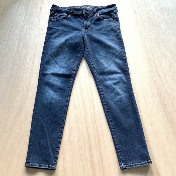 American Eagle Outfitters Denim - American Eagle Skinny Blue Jeans Womens Size 10